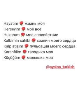 Цитаты на турецком с переводом