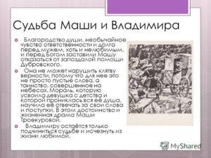 Цитаты из Дубровского